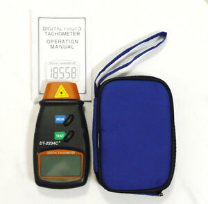 DIGITAL-LCD-LASER-TACHOMETER-HANDHELD-RPM-REV-COUNTER-TACHO-KIT-WITH-CASE