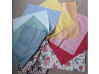 NEW Cotton Fabric/material, various colours.