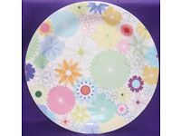 Portmerion Crazy Daisy 34cm Rimmed Platter Collectable
