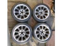 """18"""" BMW M SPORT ALLOYS styling 135 grey"""