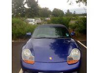 Low mileage Porsche Boxster