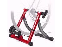 Elite Technical Mag Alu Turbo Trainer Roller Folds Flat Variable Resistance Road Cycling Bike