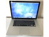 "MacBook Pro 15-inch – Early 2011 Intel®Core™i7 8GB RAM 128GB SSD 15.4"" Display Screen"