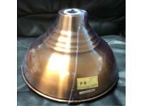 Vintage Pendant Shade - Antique Copper