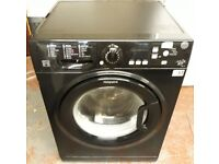 Hotpoint 7kg A rated washing machine in black colour
