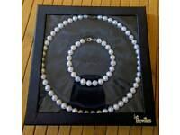 Bevilles Pearl Necklace & Bracelet