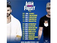 Adam Saleh Tour Tickets 2 VIP!!!!