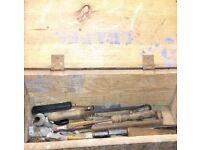 Vintage Tools & Boxes