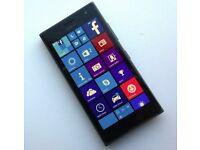 Nokia Lumia 735 Black Unlocked inc box, charger, case