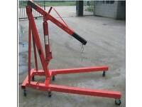 2 ton heavy duty engine lift crane