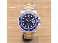 ROLEX SUBMARINER DATE OYSTER PERPETUAL STEEL AUTOMATIC WRISTWATCH 16610