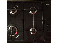2 year old gas hob & undermount double oven