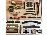 Hornby train set with extras flying Scotsman