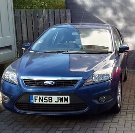 Ford Focus Zetec 1.6 TDCi 2008, service and MoT just done, new tyres, full service history