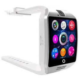 White stripes Bluetooth smart watch for android and iPhone brand new in box