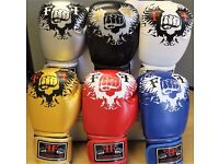 Furiousfistsuk Synthetic Leather 14oz Training Gloves 6 Colors