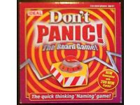'Don't Panic!' The Board Game