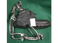Equestrian / Industrial Safety Boots RESIN TOE-CAP Stable Yard Field Muckers Size 7