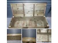 Garden storage box/bench