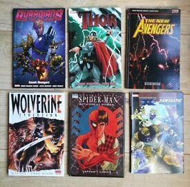 Set Of 10 Comic Books/Graphic Novels. Marvel Dc Comic's Avengers.