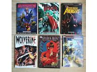 Set Of 10 Comic Books/Graphic Novels. Marvel Dc Comic's Avengers.