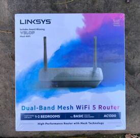 Linksys MR6350 Dual-Band Mesh Wi-Fi 5 Router BRAND NEW SEALED
