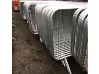 New Pedestrian Barriers