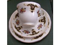 Large quantity of bone china, cups saucers plates. Used when we did garden parties for approx 100