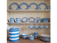 VINTAGE CORNISHWARE - T.G Green - Blue & White Tableware - Great Condition *JOB LOT*