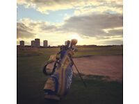 Golf Clubs, Mizuno MP33 irons, Titleist 909 woods Odyssey Putter