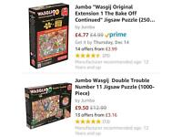 Wasjig Puzzle Nr 1 & Extension pack