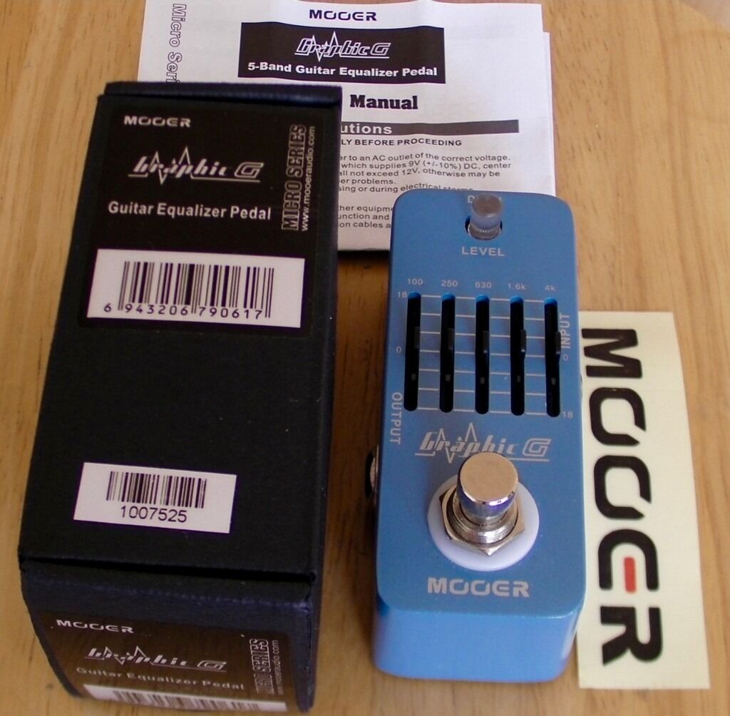 Mooer Graphic G Guitar Eq Pedal New In London Colney Electro Harmonix Equalizer