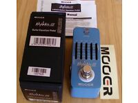 MOOER GRAPHIC G GUITAR EQ PEDAL - NEW