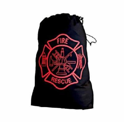 LINE2design Firefighter Laundry Bag with Maltese Cross Logo on one Side - (Designer With Cross Logo)