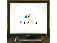 17 inch Vista VFS117 LED CCTV HD Security Monitor Screen HDMI DVI VGA BNC 960H