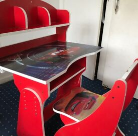 Cars 2 Desk for Children. (Collection Only) (Must go URGENTLY)