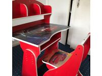 Cars 2 Desk for Children. (Collection Only)