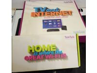 TalkTalk YouView Box (BNIB) and Wi-Fi Router (Setup but never used)