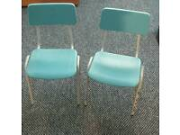 Primary school chairs x12