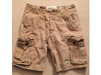 Lightly worn Men's Abercrombie & Fitch shorts. Waist 32. Fits like a 34. Tan