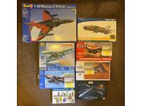 Model kits - Airfix, Revell, Hasegawa, Eduard - Aircraft Kits - Job lot