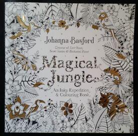Magical Jungle Colouring Book