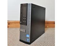 DELL OPTIPLEX USFF 9010 SMALL DESKTOP PC COMPUTER INTEL I3 8GB RAM 1TB HDD WINDOWS 10 OFFICE 2016