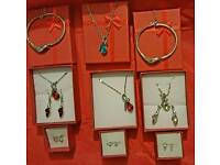 Jewellery sets , free red pouch