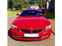 BMW Z4 23i sDrive Red 2dr 2.5 Roadster