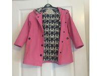 Girls Hatley Waterproof Coat Size 6