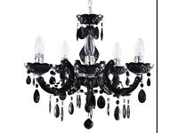 Homebase crystal chandelier