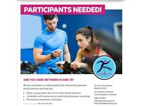 Volunteers wanted for trial of exercise to reduce hypertension in young adults (TEPHRA)