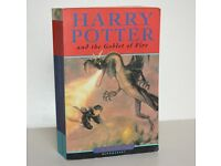 Harry Potter and the Goblet of Fire Paperback First Edition