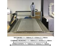 Large Desktop 3 Axis Ballscrew CNC Machine Router/Engraving Router